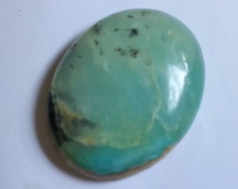 Peruvian Opal Cabochon 123 cts. Large Andean Opal