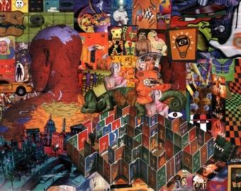 Collage on Paper - Se7en