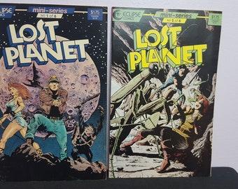 Lost Planet Eclipse Comics Mini-Series Set of 6 Books.