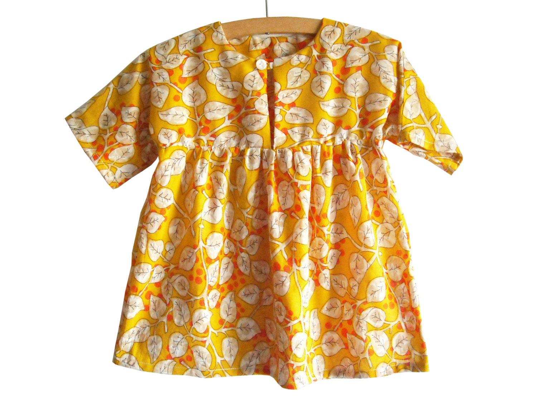 Größe 6M-3Y / Baby Sommerkleid Muster / Kleinkind