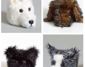 Dog Toilet Roll Holders Crochet Pattern