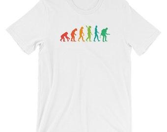 Guitar Player Evolution Funny Guitarist Musician T-shirt