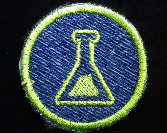 Chemistry Iron-on Patch / Merit Badge