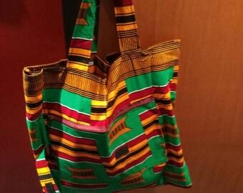 SA10 - Foldable tote bag in wax tote bag