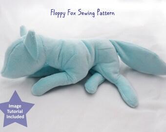 PlanetPlush Floppy Fox Sewing Pattern