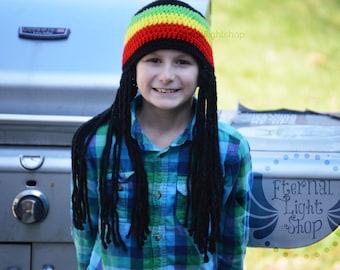 ALL SIZES/COLORS Rastafarian Beanie Rasta