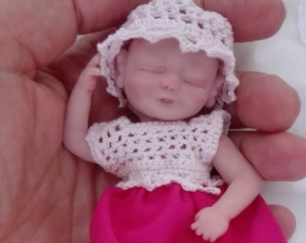 Ooak, Minibaby, collector's Doll