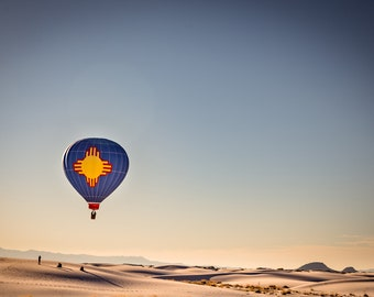 Zia Flight at White Sands, New Mexico