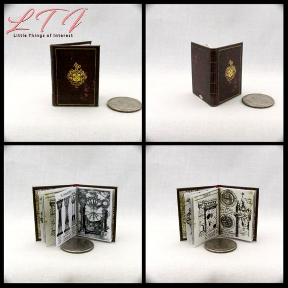 SIR FRANCES DRAKE'S Diary Miniature Book Readable Illustrated Book 1:6 Great Explorer Uncharted El Dorado Clues Play Scale Phicen 1/6