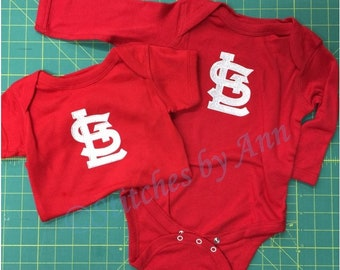 STL Cardinals One Piece - Red