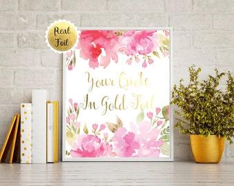 Custom Quote Print Foil, Custom Quote Print Rose Gold, Your Own Quote, Custom Gold Foil Print, Copper Foil Print, Silver Foil Print Quote