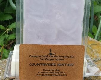 Countryside Heather Soy Breakaway Melt