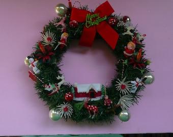 Vintage Pixie Wreath