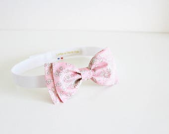 Bow Tie Adult Liberty Summer Blooms Pink - ON ORDER