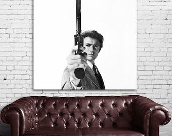 12 Clint Eastwood Western Cowboy Print