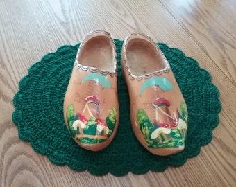 Vintage Wooden Shoes