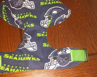 Seahawk Harness order one in your team colors