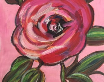 "Rose #1 Art Print 8"" x 10"""