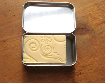 Lotion Bar | Body Butter Bar | Coconut and Cocoa Butter | Lotion Bar Unscented | Lotion Bar in Tin | Solid Lotion Bar | Eco friendly Gifts