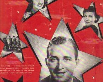 An Apple For The Teacher- Vintage 1939 Sheet Music - Bing Crosby