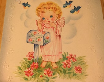 Thinking of You Card - 1930's