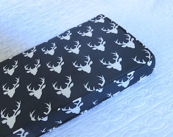Twilight Reindeer bench cushion 1m x 30cm x 5cm