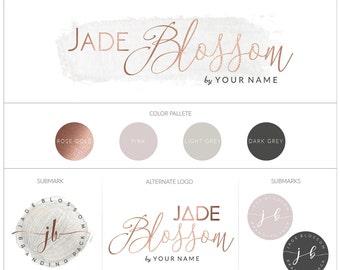 Branding Board | Branding Kit | Premade branding Kit | Mood Board | Branding | Brand | Business identity | Rose gold
