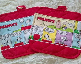 Peanuts Pot Holders - Hot Pads