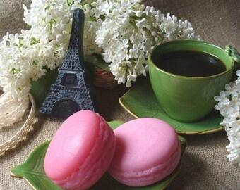 10 French Macaroon Soaps Paris favors French party favors Paris Theme Birthday Favors Dessert soap Paris Bridal Shower favors Guest soap