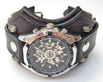 watches from punk quartz unisex wrist steampunk watch dhgate product skull bikers nicewatchnice com wristbands wholesale cover biker cheapest gothic
