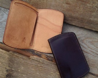 Minimal Wallet 2 Cards Slots And Folded Currency
