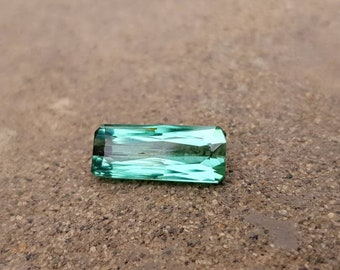 Wow 3.50 carats natural sea form color tourmaline cut stone.