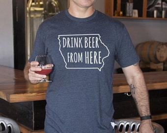 Craft Beer Hoodie- Colorado- CO- Drink Beer From Here LQbCVK