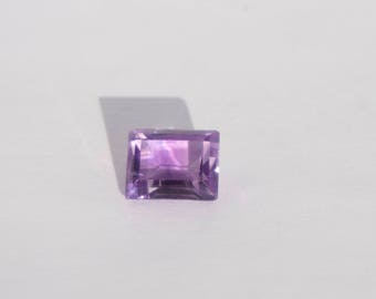 Amethyst Faceted Stone, 3.98 cts