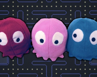 Pacman Ghost Plush - PATTERN