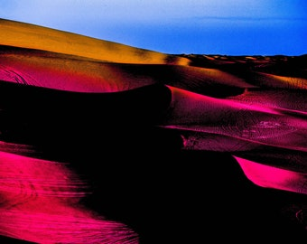 Modern art contemporary abstract photograph Imperial Sand Dunes #1 surreal