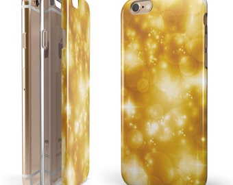 Glowing Golden Light - iNK-Fuzed Hybrid Two-Piece iPhone Case