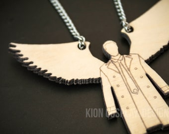 Supernatural Ornament - Castiel Angel of the Lord