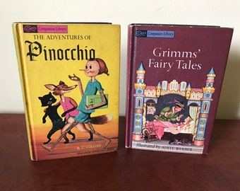 Two Children's Companion Library Books