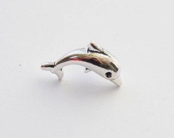 Dolphin Pin, Dolphin Lapel Pin, Dolphin Tie Tack, Dolphin Brooch, Dolphin Jewelry, Fish Tie Pin, Fish Tie tack, Fish Jewelry, Dolphins PIn