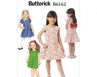 GIRL CLOTHES PATTERN / Make Dress - Sundress / Summer Clothes / Child Size 2 - 5 Or Girl Size 6 - 8