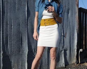 Organic Bamboo Mini Skirt