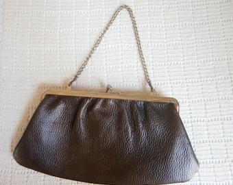 Mod 60's Brown Clutch