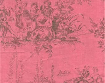 RJR Jardin Gris By Robyn Pandolph 2732 3 Pink Vintage Picnic By The Yard