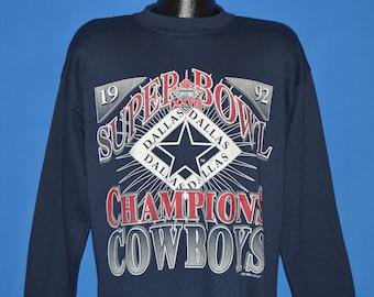 90s Dallas Cowboys Super Bowl XXVII Sweatshirt Extra Large