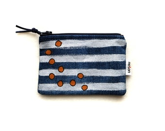 Card Pouch, Coin Pouch, Small Coin Pouch, Zipper Pouch, Small Pouch, Cards Wallet, Handmade Wallet, Pocket Wallet, Small Wallet