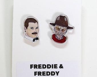 Freddie Freddy Acrylic Earring