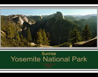 Sunrise - Yosemite National Park