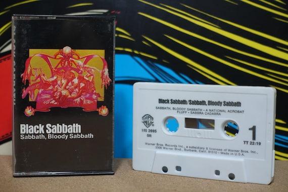 Sabbath Bloody Sabbath by Black Sabbath Vintage Cassette Tape