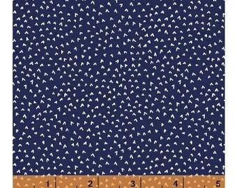 Notepad - Points -Windham Fabrics - Royal Blue